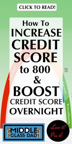 Trying to learn how to increase credit score to 800 or maybe even how to boost c.Trying to learn how to increase credit score to 800 or maybe even how to boost credit score overnight? While you can have a quick impact on your score, it's i My Credit Score, Paying Off Credit Cards, Improve Your Credit Score, Rewards Credit Cards, Increasing Credit Score, Union Credit, Credit File, Best Credit Cards, Fix Bad Credit