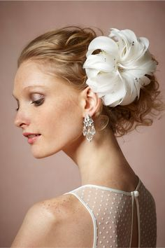Sparkling Peony Comb in Shoes & Accessories Headpieces Pins, Clips & Combs at BHLDN | Twigs & Honey | $120