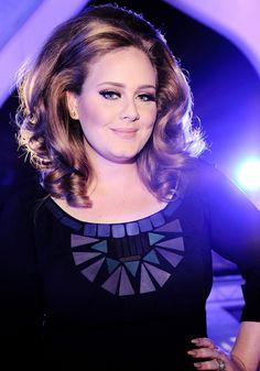 Amazing Adele with Her Amazing Hair