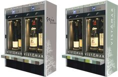 Vistamar branded units as used in Dutch wine shops