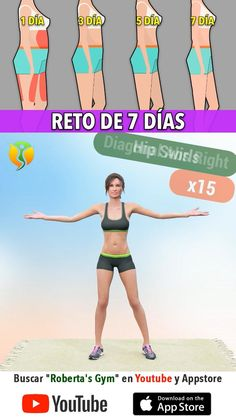 Full Body Gym Workout, Gym Workout Videos, Gym Workout For Beginners, Fitness Workout For Women, Gym Workouts, Gymnastics Workout, Weight Loss Workout Plan, Workout Challenge, Workout Programs