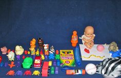 therapy go bag--what to pack in your grab bag of toys for a good lesson