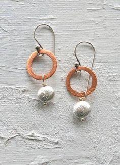 https://www.oceanj.co.uk/shop/jewellery/ladies-who-lunch-rose-gold-drop-earrings-silver-nugget/