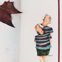 #copic #marker #illustration #drawing #painting #moleskine