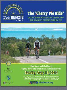 Great bike ride in Michigan