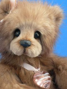 Custom Mink Heirloom Teddy Service from your mink stole | MinkBears - Dolls & Miniatures on ArtFire