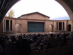 passion play stage, oberammergau