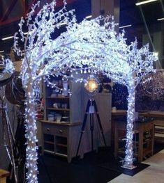 31 Ideas Tree Wedding Arch Winter Wonderland For 2019 Dance Decorations, Dance Themes, Prom Themes, Wedding Decorations, Winter Wonderland Decorations, Winter Wonderland Wedding, Tree Wedding, Christmas Wedding, Wedding Ideas