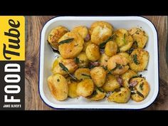Roast Potatoes Three Ways (goose fat)   Jamie Oliver - YouTube