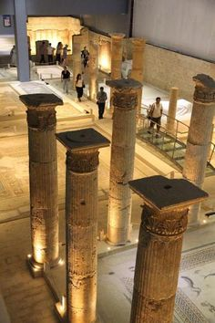 The world's largest mosaic museum in Gaziantep is fast becoming one of Southeast Turkey's major cultural attractions. Ancient City, Ancient History, Underground Cities, Alexander The Great, Turkey Travel, Archaeological Site, Central Asia, Istanbul Turkey, Archaeology