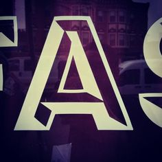 Letter of the day! #a #typography @glyphosaurus  (Taken with instagram)