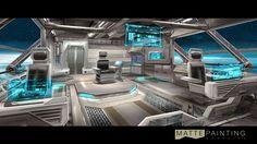 spaceship interior vector - Google Search