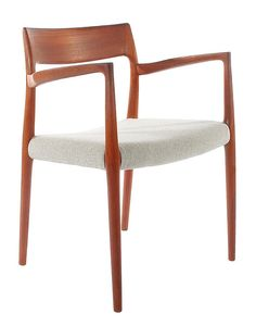 Niels Moller for JL Moller Danish Mid Century Modern Dining Chairs