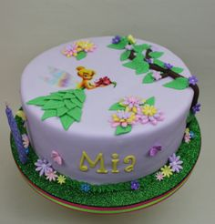 Tinkerbell Cake by Violeta Glace