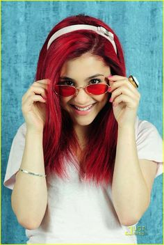 Ariana Grande Red Hair Color Pictures. ~ World Gossips