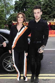 Liam Payne wearing Amiri Mx1 Jeans, Balenciaga Suede Chelsea Boots and Gucci Leather Belt with Interlocking G