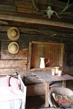 Love the simplicity or rustic
