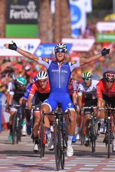 72nd Tour of Spain 2017 / Stage 4  Arrival / Matteo TRENTIN Celebration / EscaldesEngordany Tarragona Anella Mediterranea 2018 / La Vuelta /