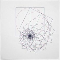 #543 The sum of all things – A new minimal geometric composition each day.