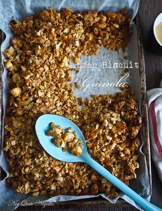 Low Fat Anzac Biscuit Granola
