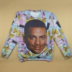 a146e9761d8e6 PLstar Cosmos 3d jumper Fresh Prince Crewneck Sweatshirt Will Smith With  Christmasdresslliy