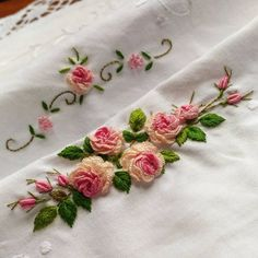 Embroidery for Beginners & Embroidery Stitches & Embroidery Patterns & Embroidery Funny & Machine Embroidery Floral Embroidery Patterns, Embroidery Flowers Pattern, Rose Embroidery, Silk Ribbon Embroidery, Hand Embroidery Designs, Embroidery Kits, Embroidery Supplies, Brazilian Embroidery Stitches, Hand Embroidery Videos