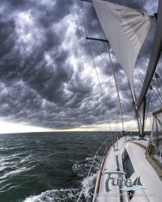 Storm Clouds Beneteau 49 Sailboat   Flickr - Photo Sharing!