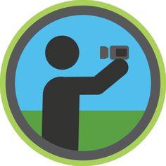 Vlogging Badge