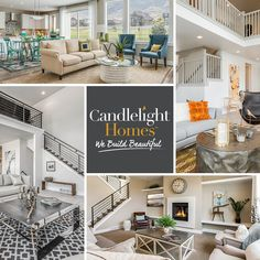 Ready to decorate your home? Get started by planning the perfect color palette for your living space! At Candlelight Homes, we build beautiful.