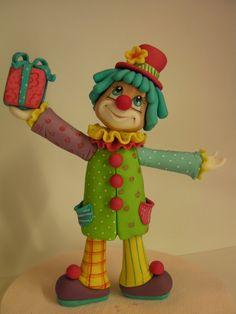 CLOWN (KLOVN) Figurice za torte - junaci Crtanih filmova, igrica, mladenacke figurice, Diznijeve princeze, Oktonauti, Zvoncica i Zimzelena, Lepotica i z... - Ana Milev Nikolic - Google+