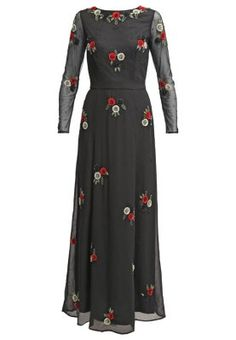 SIA - Vestito lungo - black