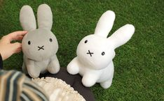 Strapya World : Miffy Character Cute Plush Type Doll (White)