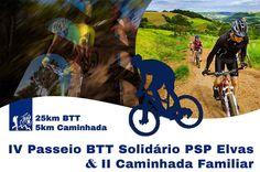 Elvas: Passeio solidário de BTT, com a PSP ou uma caminhada em família | Portal Elvasnews