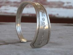Mothers Day Gift Idea  Pioneer Woman Upcycled Silverware bracelet.  $22  www.laughingfrogstudio.etsy.com