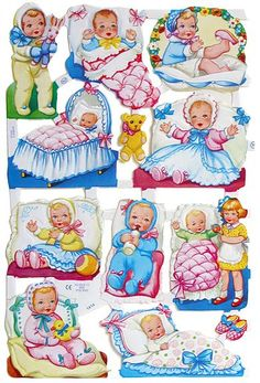 Scraps Art Crafts Sheet Baby Babies Teddies Infants You Choose Oblaten Kinder Vintage Baby Pictures, Images Vintage, Vintage Paper Dolls, Vintage Toys, Christmas Decals, Retro Toys, Baby Kind, Vintage Greeting Cards, Sweet Memories
