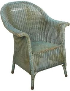 Lloyd Loom Chair   Whenever I See One At An Auction I Want It. I