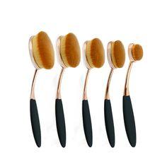 New Arriveral 5Pcs Tooth Brush Shape Oval Makeup Brush Set Professional Shiny Rose Gold Foundation Powder Oval Brush Kits♦️ SMS - F A S H I O N 💢👉🏿 http://www.sms.hr/products/new-arriveral-5pcs-tooth-brush-shape-oval-makeup-brush-set-professional-shiny-rose-gold-foundation-powder-oval-brush-kits/ US $10.93    Folow @fashionbookface   Folow @salevenue   Folow @iphonealiexpress   ________________________________  @channingtatum @voguemagazine @shawnmendes @laudyacynthiabella @elliegoulding…