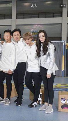 Keep Running, Running Man, Luhan, Kim Ji Won, Perfect Smile, Celebs, Celebrities, Ulzzang, Photoshoot