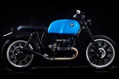 Diggin' this slick 1979 BMW R80 'brat style' build from Tarmac Custom Motos.