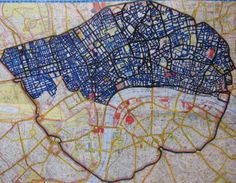 Congestion Zone is my Aunt's blog. She's walking all the streets of central London day by day. The blue parts are the streets she has walked, and it's looking awesome. Her blog is definitely worth checking out; there's some really cool stuff!