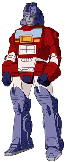 Orion Pax - before his ascension to Optimus Prime on the original animated show.