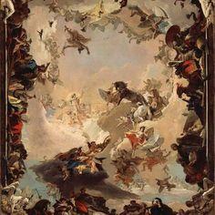Happy birthday to Giovanni Battista Tiepolo arguably the...