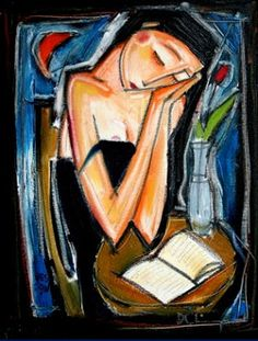 Reading and Art. Denis Chiasson