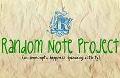 Random Note Project is a worldwide kindness spreading activity where participants anonymously leave encouraging notes to uplift strangers. Found notes are posted to the website along with heartwarming and meaningful stories of their impact. Blue Feather, Make Me Happy, Journaling, Acting, Notes, Gym, Spaces, Activities, Website