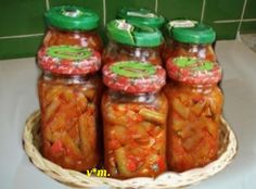 Jar, Food, Design, Green, Preserves, Salads, Essen, Meals, Eten