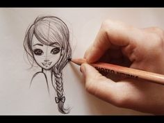 ❤Come disegnare i capelli /how to Draw MANGA HAIR -3 hairstyles(step by step)❤