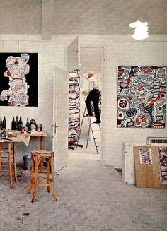 Dubuffet studio