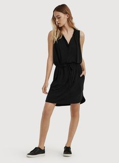 Shop for the CINCHED WAIST DRESS at Kit and Ace. Kit and Ace provides technical clothing for men and women.