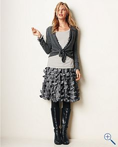 Petal Skirt from Garnet Hill