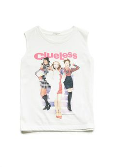 Clueless Muscle Tank (Kids) | FOREVER21 girls - 2000083984